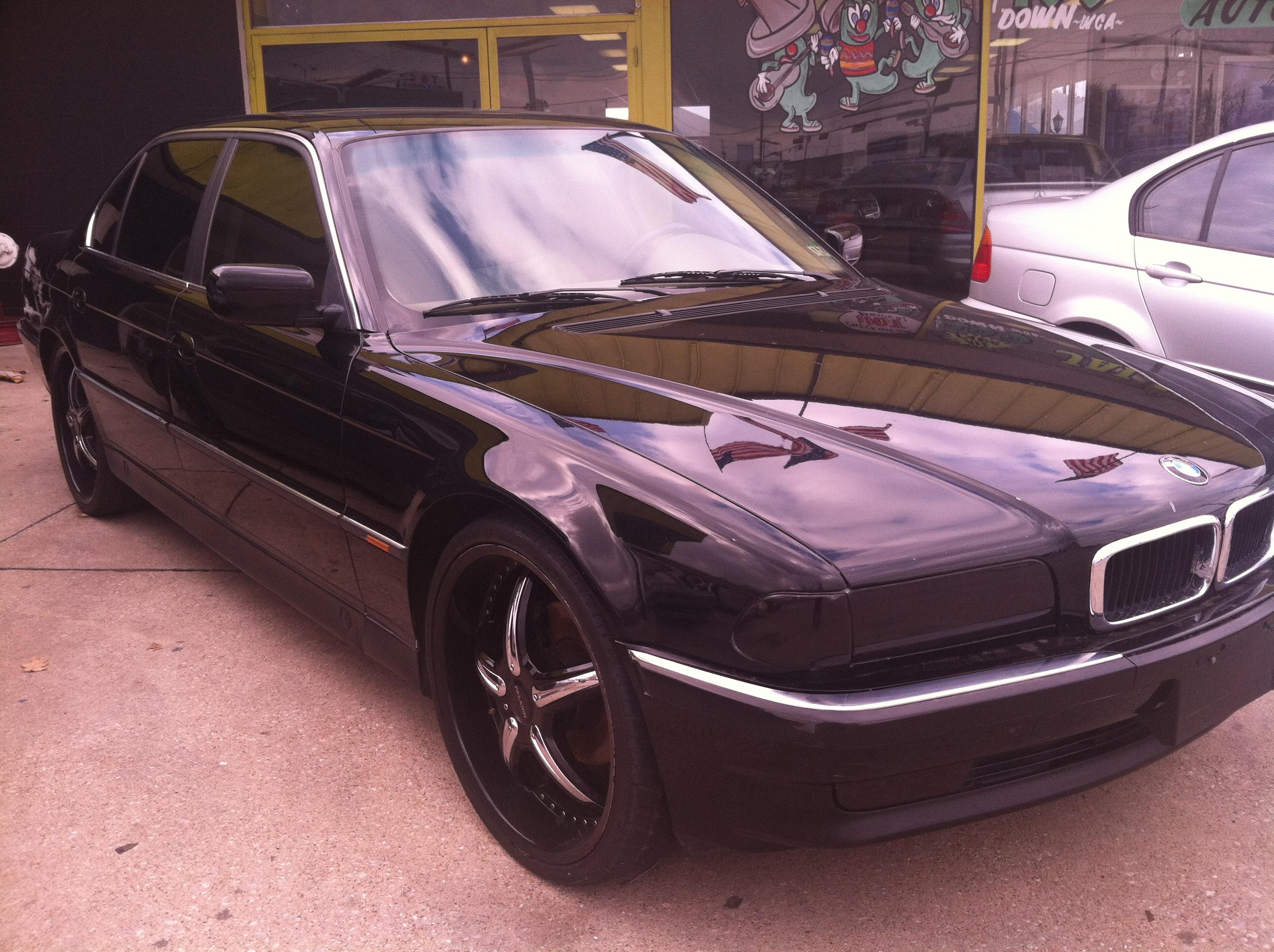 98 BMW 740il 22S
